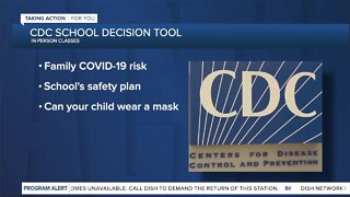 CDC creates school decision tool and checklists to help parents, guardians