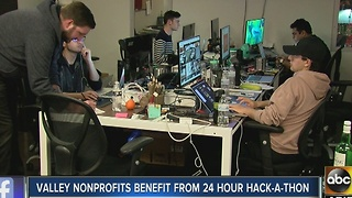Valley non-profits benefit from 24-hour hack-a-thon in Phoenix - Video