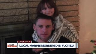 Local Marine murdered in Florida - Video