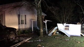Tornado Touches Down in Gladeville, Damaging Homes Along Path - Video