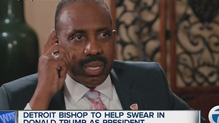 Detroit bishop to take part in Trump inauguration - Video