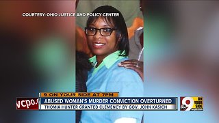 Abused woman's murder conviction overturned