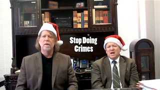 Singing Lawyers Offer Legal Advice for the Holidays - Video