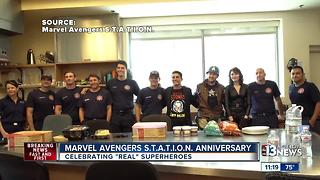 Marvel Avengers S.T.A.T.I.O.N. surprises nurses, firefighters - Video