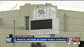 Medical mystery affecting students at Dewey Public Schools - Video