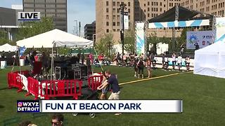 Fun at Beacon Park grand opening - Video