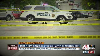 Three killed, two others injured in Lawrence shooting - Video