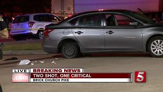 1 Killed, 1 Injured In Brick Church Pike Shooting In Nashville - Video