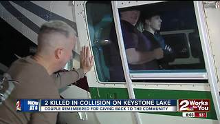 Keystone Lake victims helped kids with cancer - Video