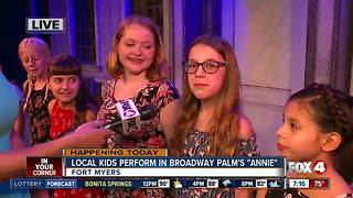 Broadway Palm cast performs 'Annie' The Musical - 7am live report - Video