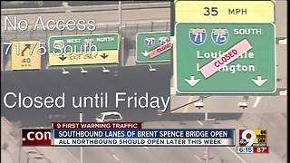 Brent Spence construction is almost over