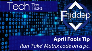 How to get Matrix style Code on your PC to trick friends or family - Video