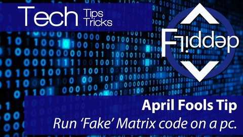 How to get Matrix style Code on your PC to trick friends or family