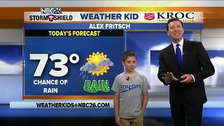 Meet Alex, our NBC26 Weather Kid of the Week - Video