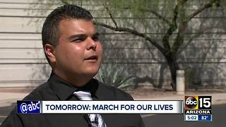 Arizona students plan to gather at capitol Saturday for 'March for our Lives' event - Video