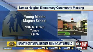 Tampa Heights Elementary getting new mascot, logo after fire
