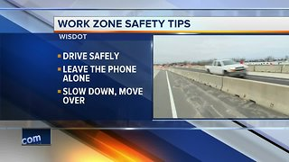 The DOT promotes highway safety during Work Zone Awareness week