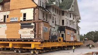 Time Lapse | Belleview Biltmore gets moved - Video