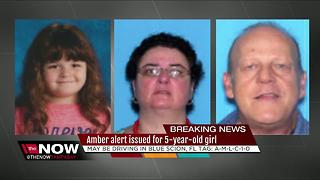 AMBER Alert issued for 5-year-old girl from Dunnellon - Video