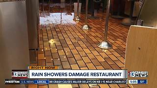 Restaurant closes after winter storm soaking - Video