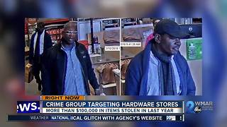 Police seek IDs for Baltimore County shoplifters