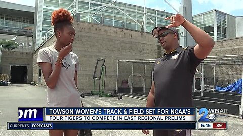 Towson women's track & field sending four to NCAA's