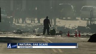 One day after Sun Prairie explosion, Sheboygan gas leak puts neighbors in a panic - Video