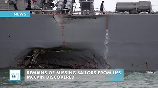 Remains Of Missing Sailors From USS McCain Discovered - Video