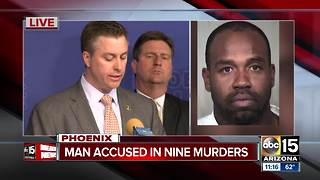 FBI officials detail investigation into accused Phoenix murderer - Video