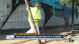 Response to hepatitis A outbreak questioned