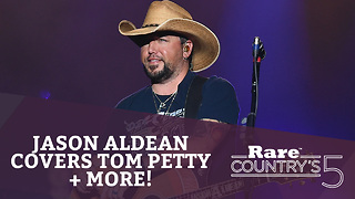 Jason Aldean Covers Tom Petty + More | Rare Country's 5 - Video