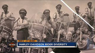 Harley Davidson strives for diversity