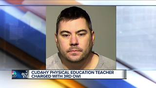 Cudahy teacher charged with 3rd OWI - Video