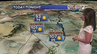 13 First Alert Las Vegas Weather Sunday August 11 Morning
