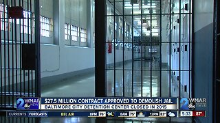 $27.5 Million Contract Approved To Demolish Jail