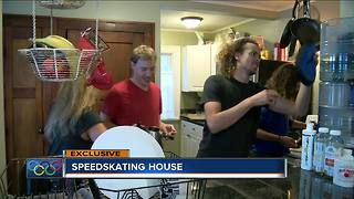 Speedskaters training for the Olympics are all under one roof - Video
