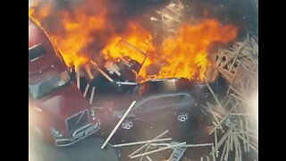 Multiple Injuries Reported After Fiery Crash Shuts Down Highway in Denver