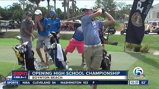 Opening High School Championship - Video