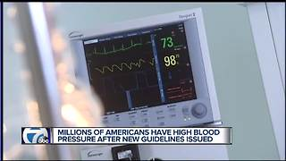 Millions of Americans have high blood pressure after new guidelines issued - Video