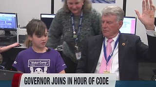 Governor Otter joins Hour of Code lesson - Video