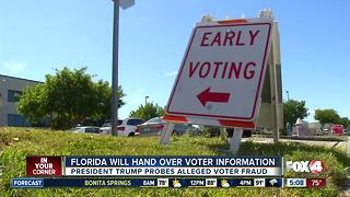 Florida will hand over some voting information to commission - Video