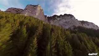 Daring Drone Footage Captures French Alps Beauty - Video