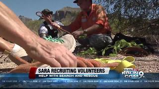 Southern Arizona Rescue Association looking for new volunteers - Video
