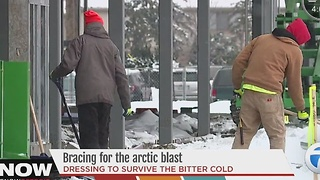 Bracing for the arctic blast - Video