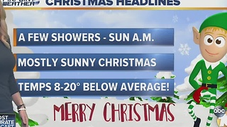 Kristen's Dec 24th Forecast - Video