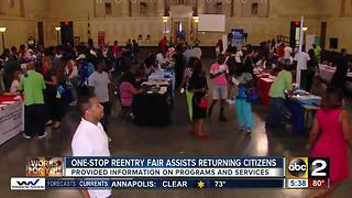Former convicts get second chance at success during One-Stop Reentry Fair - Video