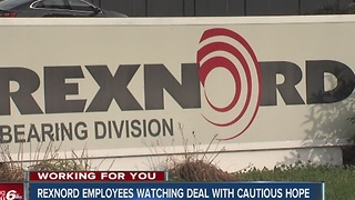 Rexnord employees watching Carrier deal - Video