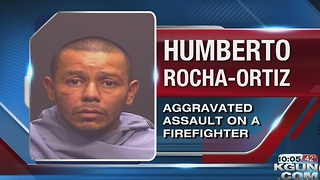 TPD arrests man for attacking firefighters - Video