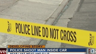UPDATE: Man claims he was shot by police during barricade situation