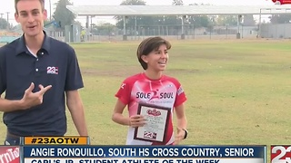 Angie Ronquillo named 23ABC's female AOTW - Video